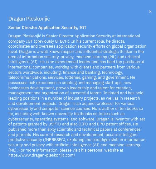 Dragan Pleskonjic, IBM Think